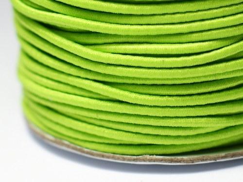 pruženka kulatá 2 mm- světle zelená