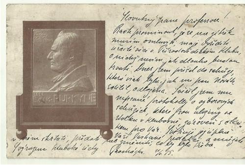 Umělecká pohlednice sochař O.Španiel