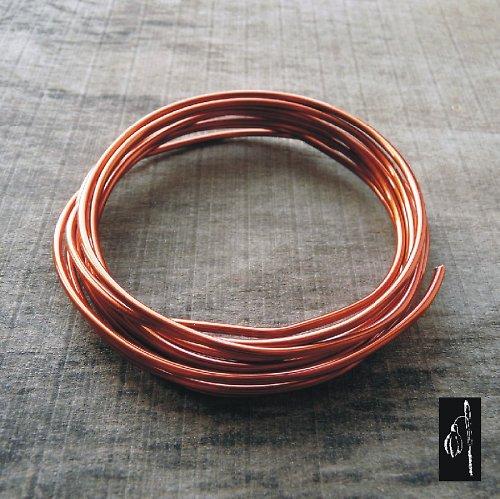 Lakovaný měděný drát 2,0 - 2 metry