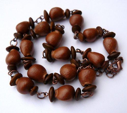 Po babičce klokočí - krátký náhrdelník (č.4)