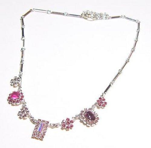 Štrasový náhrdelník  F62