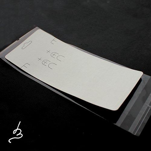 Karta na šperky bílá - 2 sady