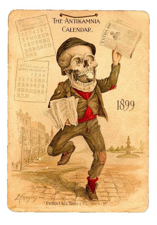 Kalendář 1899