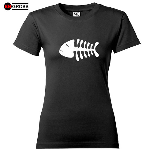 Dámské tričko FISH BONES II