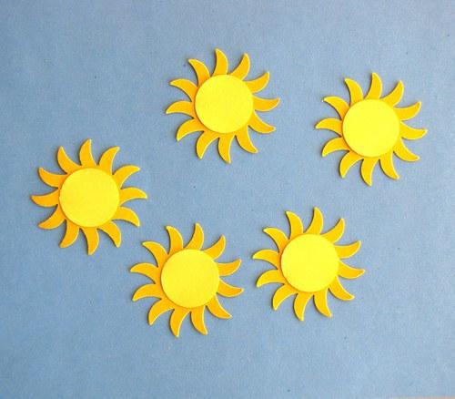 Sluníčka - 5 ks