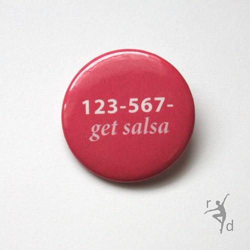 Placka GET SALSA