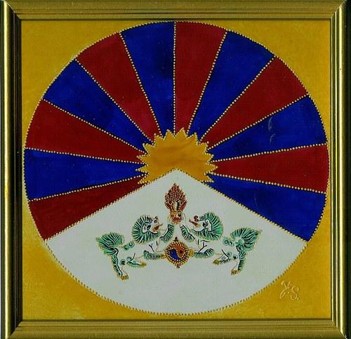 Tibetská mandala