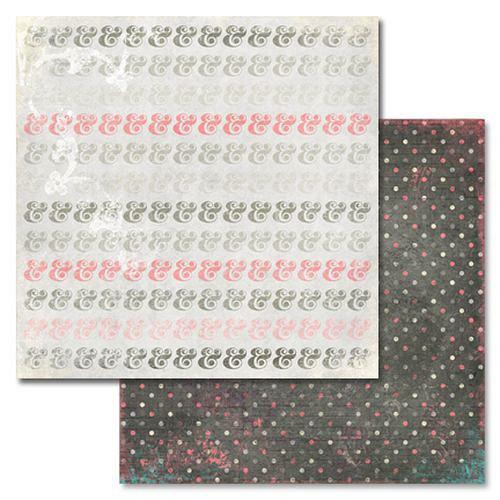 Scrapbookový papír Love You Madly Ampersand