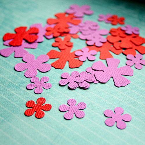 květy - 33 kusů