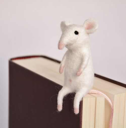 Myška - záložka do knihy