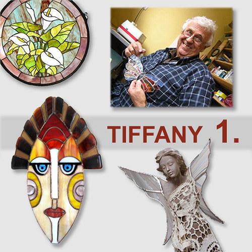 Kurz - TIFFANY vitráž 1.- základy, 27.8.17., P-10