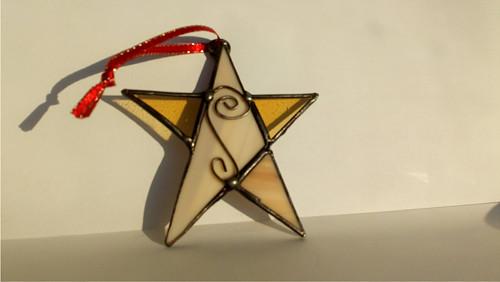 Retro Vánoční hvězda 5