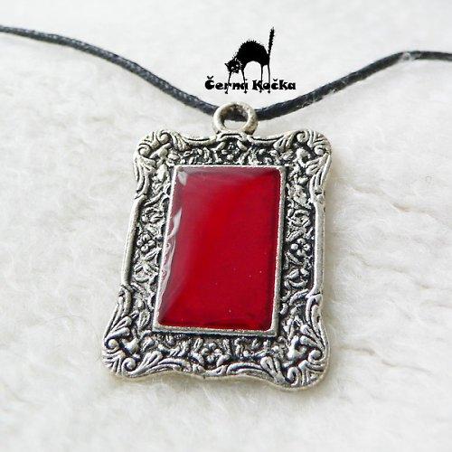 Zrcadlo Červené paní
