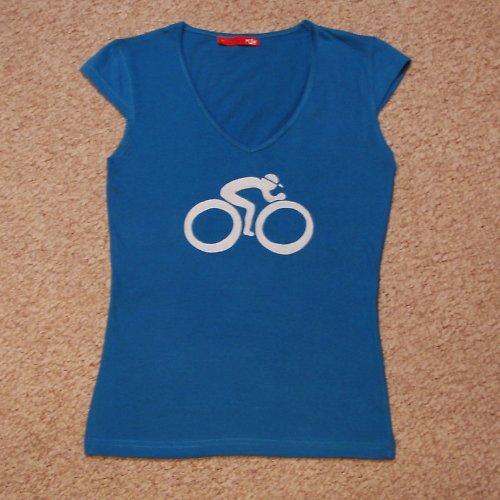Modrý cyklista pro dámy - SLEVA z 250,- Kč