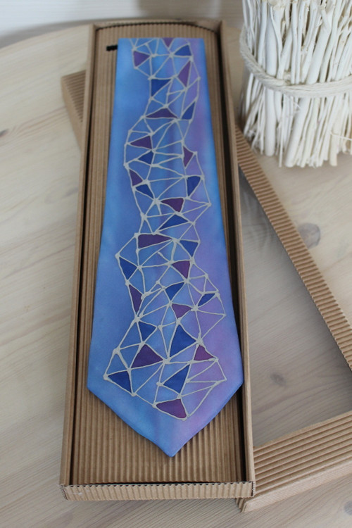 Hedvábná kravata  - Alpi