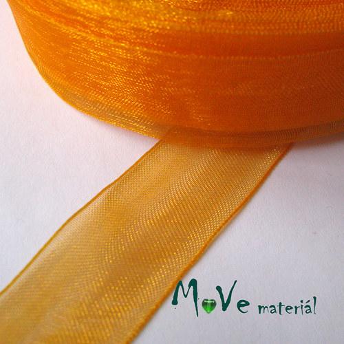 Šifónová stuha 20mm, 1m, oranžová