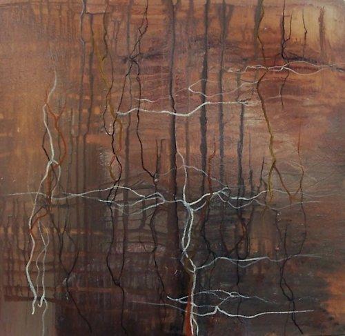 Abstraktní obraz-Kořeny