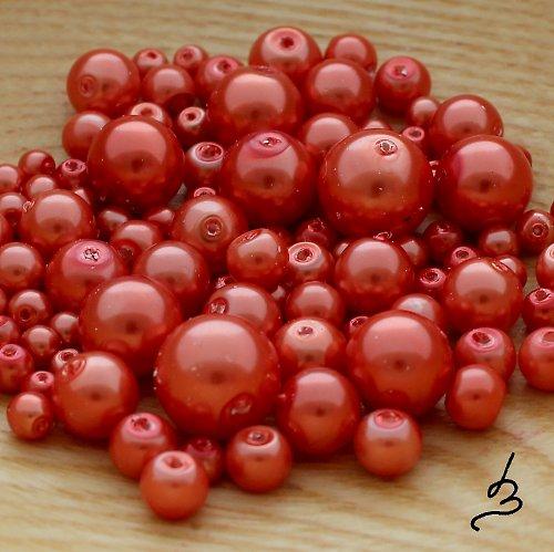 Voskové perle oranžové - 50 g