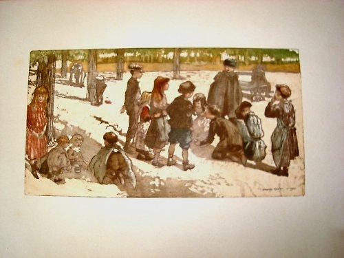 Děti v parku ... 1906