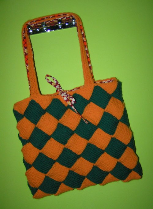 Oranžovo zelená  - RETROVKA
