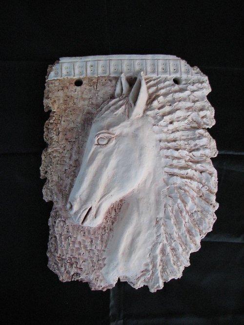 Fragment - hlava koně nedostupné