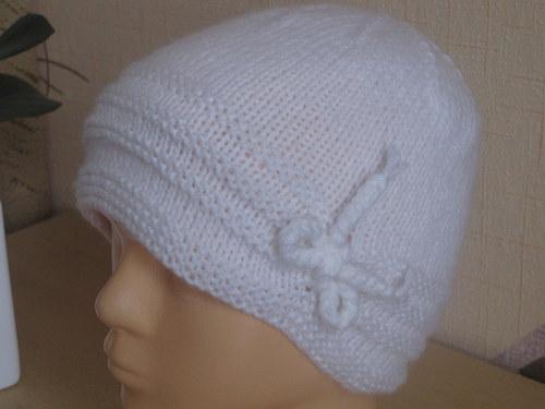 Dětská pletená čepice