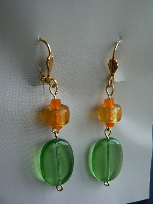 Zeleno-oranžové