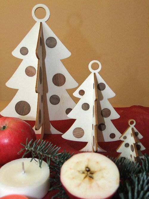 Vánoční strom, stromeček - BAŇKY set