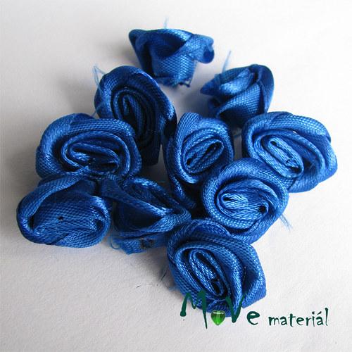 Růžička saténová zářivě modrá Ø20mm, 10kusů