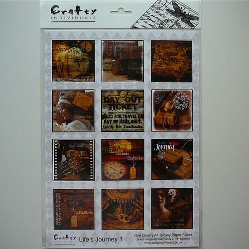 Minipapíry Crafty Individuals