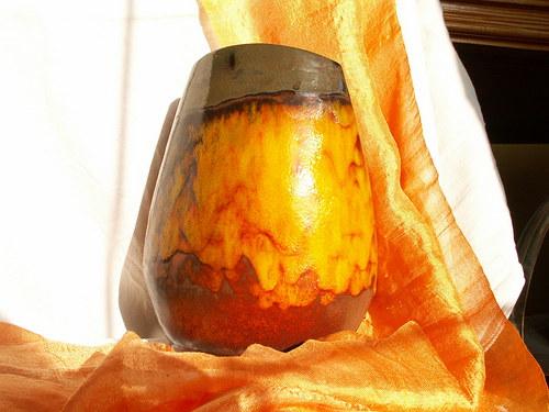 """váza \"""" oranžová \""""   II"""