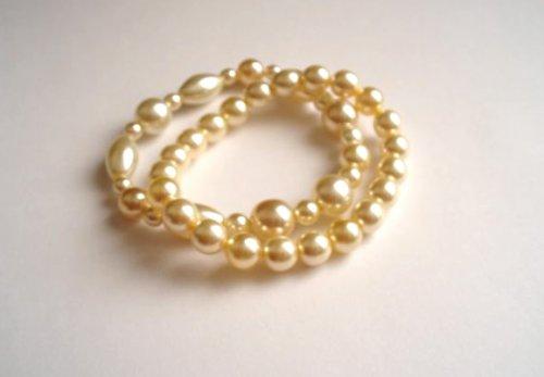 Náramek perlový