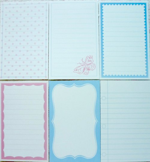 Journalling Cards - Spring Picnic