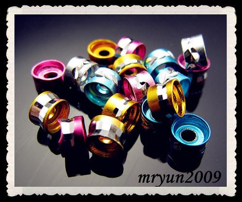 Mezikorálek MIX- průměr 6mm -cena za 10ks