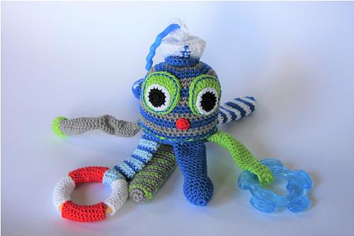 Chobotnice námořník - interaktivní hračka