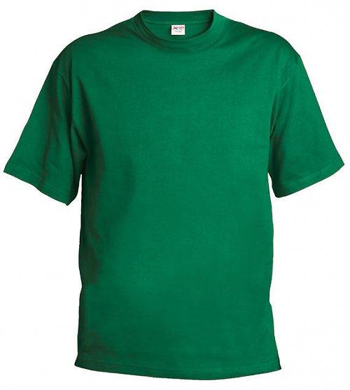 Triko zelená 155 g, M - značka Xfer