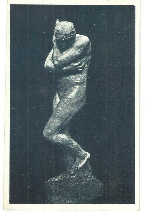 Umělecká pohlednice Auguste Rodin Eva