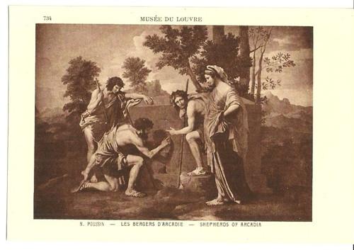 Umělecká pohlednice N.Poussin