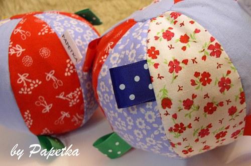 Textilní míček pro nejmenší