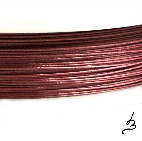 Ocelové lanko starorůžové 0,38