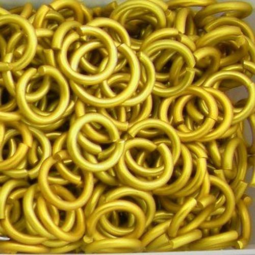 kroužky eloxovaný hliník 3,38/08 žlutá 100ks