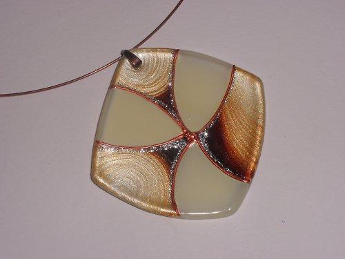 Skleněné šperky - přívěsky