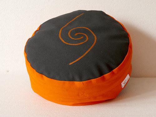 Meditační sedák, Zafu, 12 cm vysoký