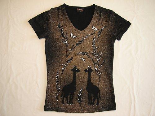 žirafí pokec v trávě vel.M