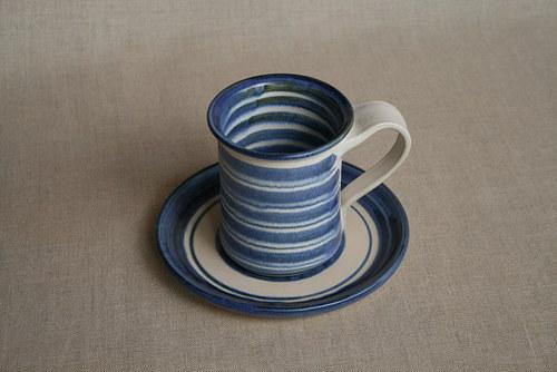 snídaňový set-modrý