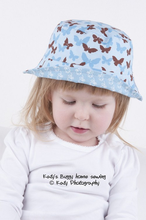 Buggy Summer Hats - Butterfly No.3 (vel.2)