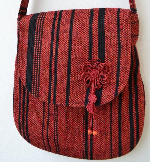 červeno/černá..kabelka, taška
