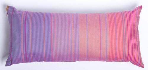 polštář dlouhý proužkovaný
