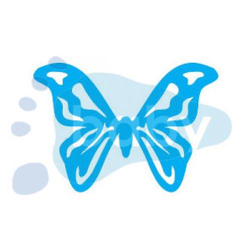 Razítko motýl 4 5 x 3,5