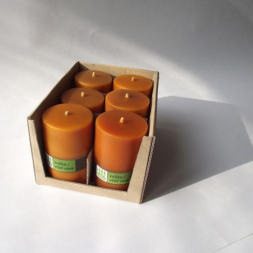 Oranžové válečky 6 ks